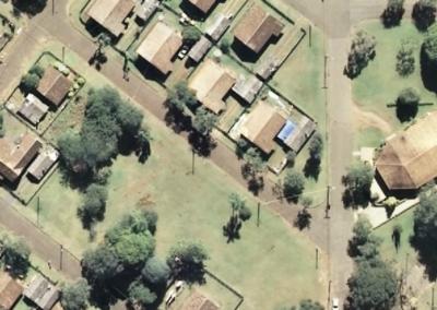 Aerofotogrametria - Foto aérea - Cadastro Urbano