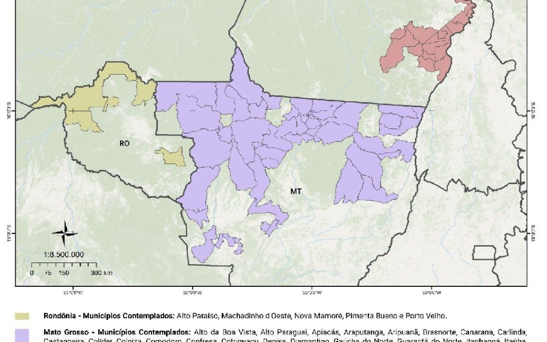 CAR recebe mais 10 milhões de euros para regularização ambiental em três estados da Amazônia