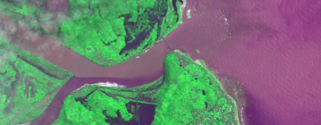 Imagem de satélite CBERS-4 é adquirida após desastre natural em Madagascar