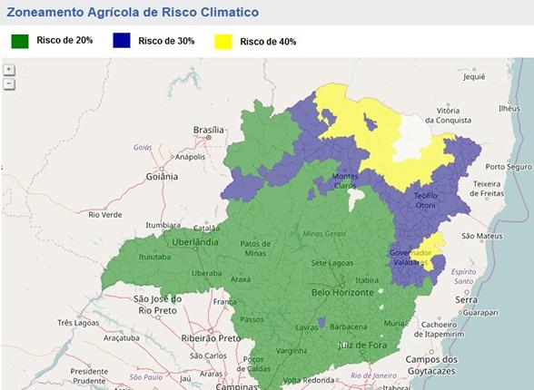 Zoneamento Agrícola de Risco Climático ganha versão aprimorada