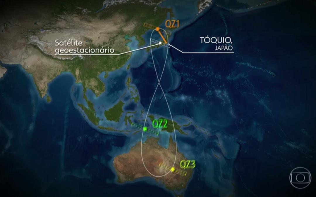Japão cria GPS com margem de erro reduzida a centímetros