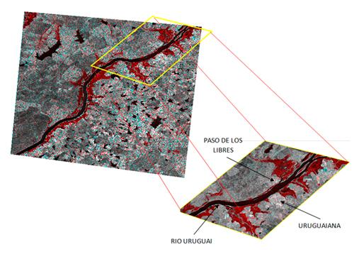 Imagens de radar são utilizadas para mapear enchentes no RS