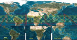 imagens de satélite TeLEOS 1