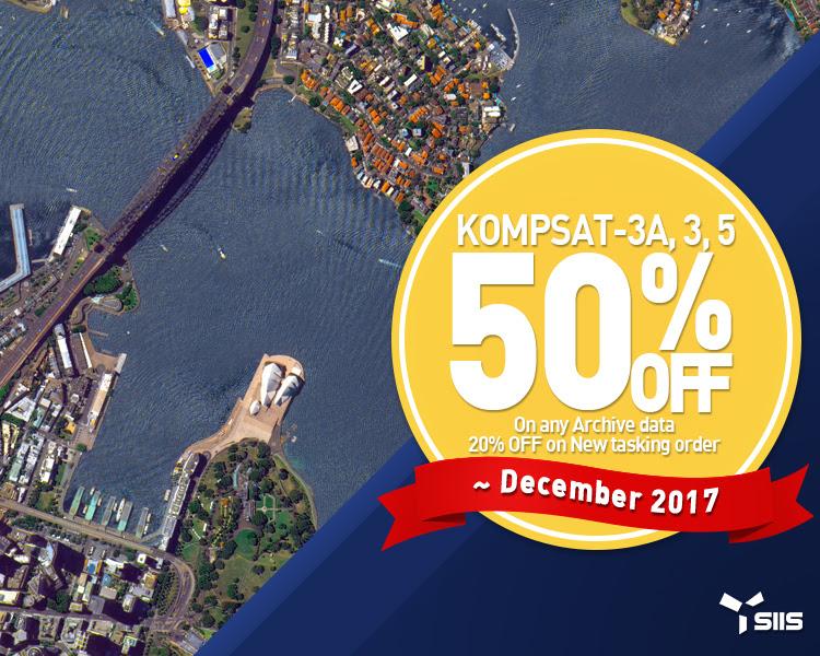Imagens de satélite kompsat