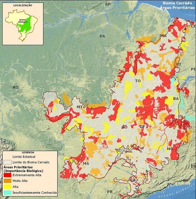 Bioma do Cerrado terá monitoramento com imagens satélite