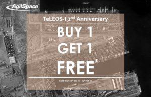imagem de satélite TeLEOS-1