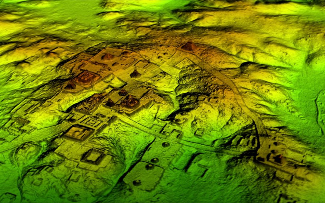 Pesquisadores identificaram ruínas Maias através de tecnologia LiDAR