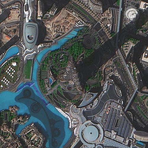 Imagem de satélite SuperView 1