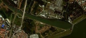 Imagem de satélite atualizada