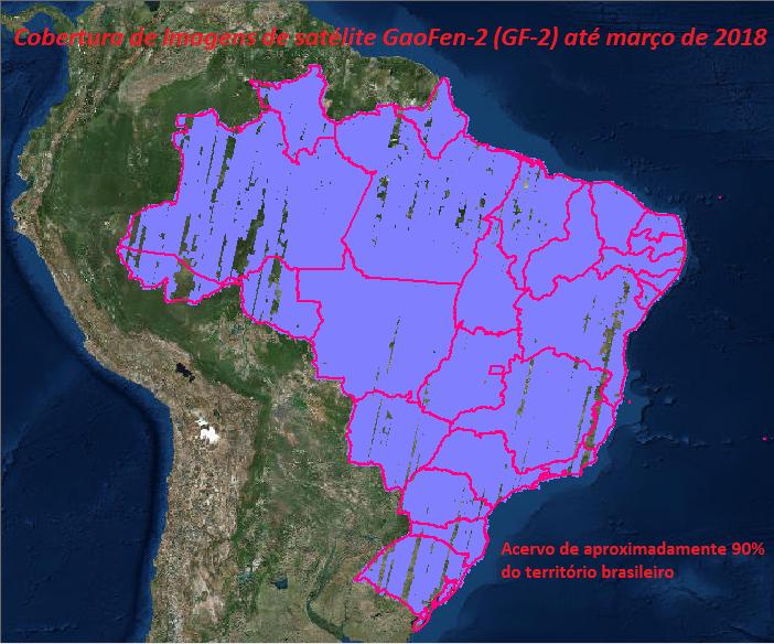 imagens de satélite atualizadas