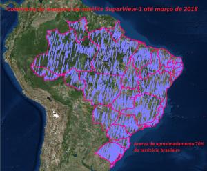imagens de satélite super view