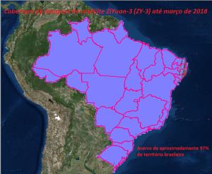 imagens de satélite ZY3