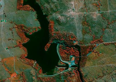 Energia - GaoFen 2 (GF-2) - PCH Salto Jauru, Indiavaí, MT