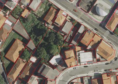 Foto aérea para cadastro urbano - GSD de 10 cm - Caieiras, SP