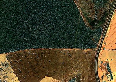 KOMPSAT 2 - RGB - Canápolis, MG