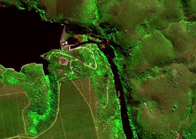 GaoFen 2 (GF-2) - Falsa Cor - UHE Santa Clara - Serra dos Aimorés e Nanuque em MG e Mucuri, BA