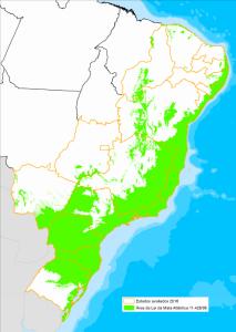 Desmatamento da Mata Atlântica