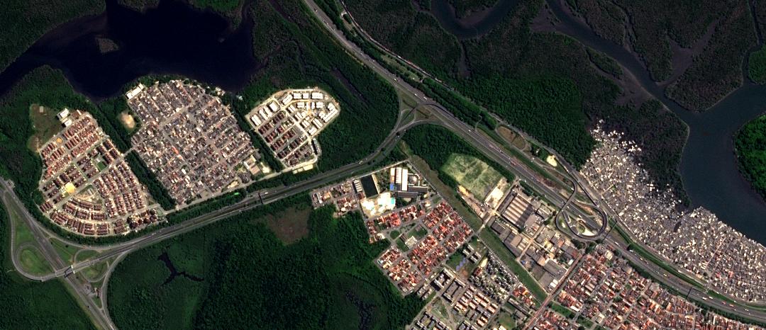 Como a diversidade de imagens de satélite pode ajudar na gestão territorial