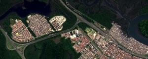 gestão territorial imagens de satélite