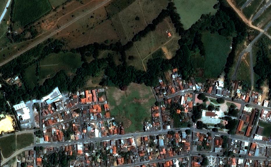 meio ambiente imagem de satélite