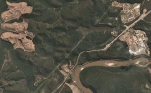 imagem satélite planet