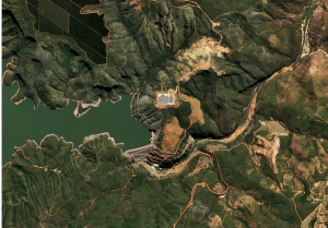 rapideye imagem de satélite
