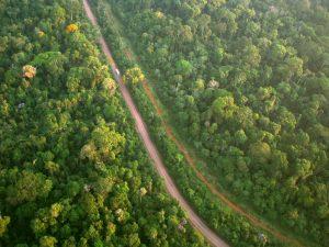 serviços ambientais imagens de satélite