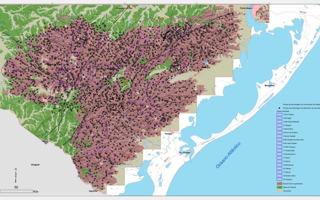 CPRM finaliza estudos geológicos no Rio Grande do Sul