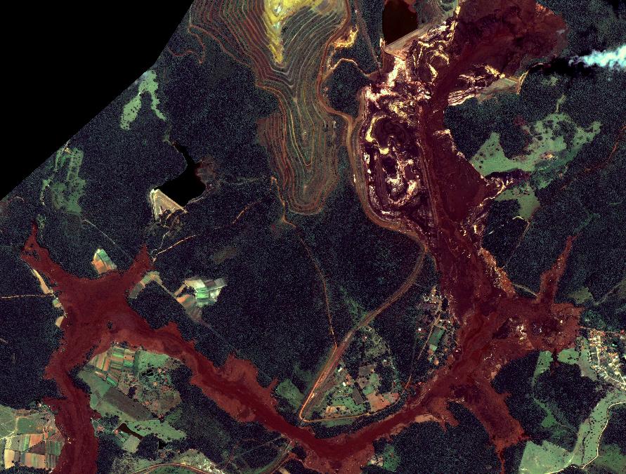 TecTerra disponibiliza imagens de satélite de Brumadinho