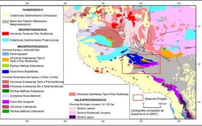 CPRM lança estudos que ampliam conhecimento geológico de Rondônia
