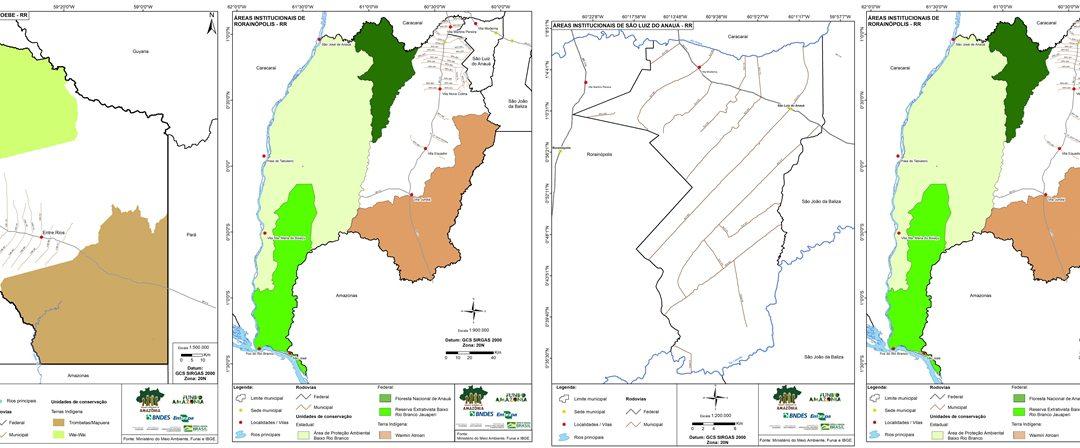 Gestão territorial em áreas piloto na Amazônia