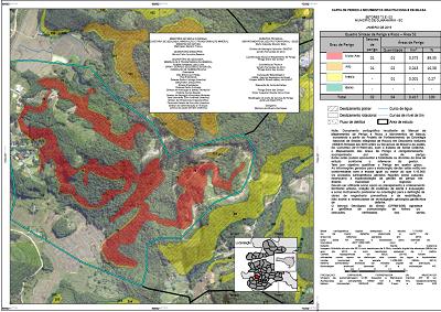 CPRM publica cartografia inédita sobre mapeamento de perigo