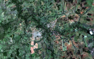 Divulgadas primeiras imagens do satélite CBERS 04A