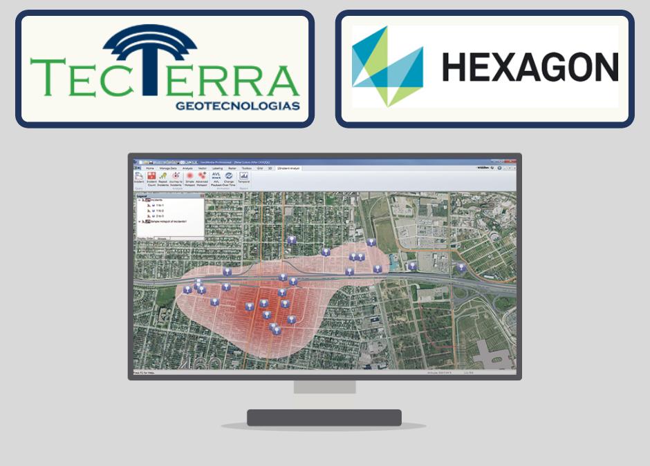 TecTerra se torna revenda das soluções Hexagon Geospatial