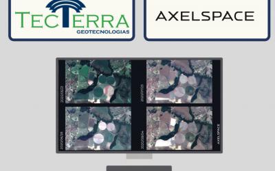 TecTerra assina contrato com a AxelSpace para distribuição de imagens de satélite em Plataforma WEB