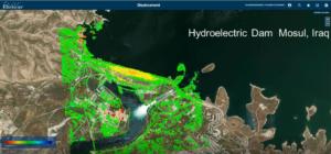 rheticus monitoramento de barragem e movimentação de terra