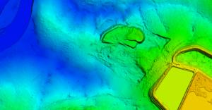 Topografia para estudos de barragem